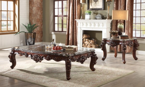 83070 Marble Top Walnut...