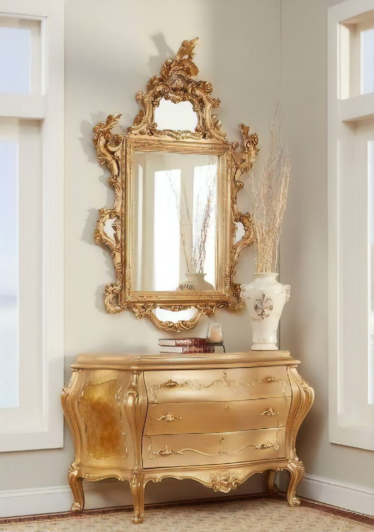 303 Cw French Bombay Chest Polrey French Provincial Style
