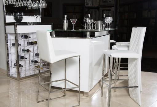 Bar Glossy White Glossy...