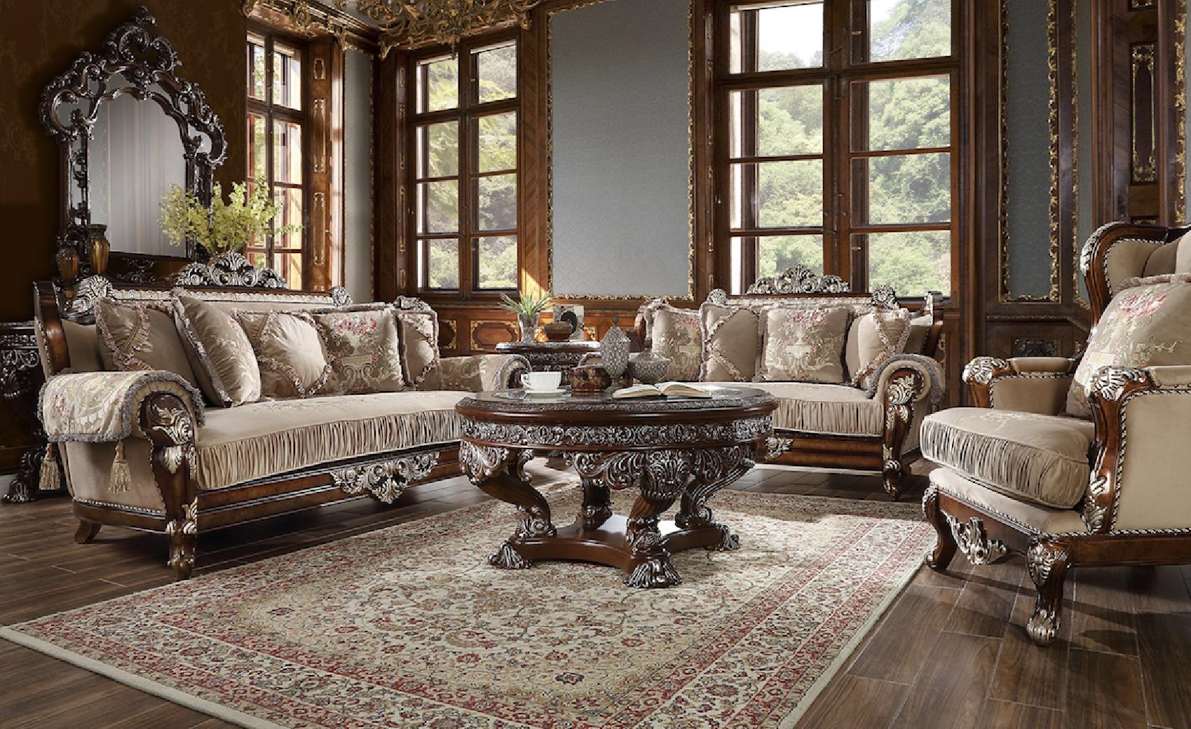 hd 562 homey design upholstery living room set victorian
