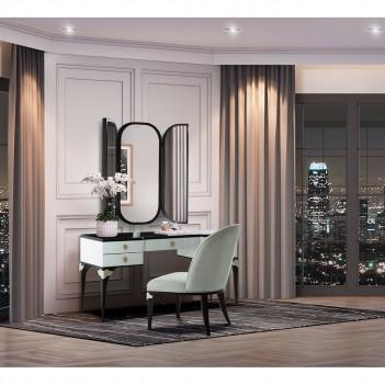 Vanity & Mirror Paris Chic...