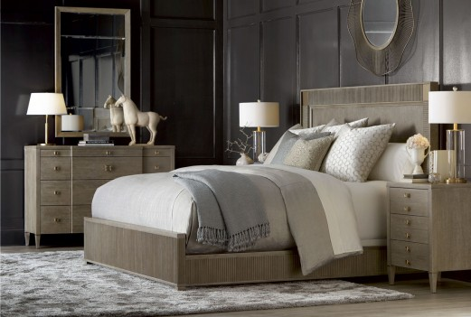 Cityscapes Hudson Stone Panel Bedroom Set by A.R.T. Furniture