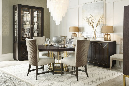 Round Table Dining Set Woodwright Collection By A.R.T Furniture