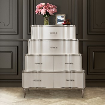 Tiered 6-Drawer Chest...