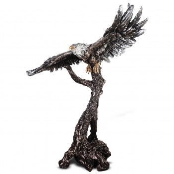 HD 1133 Eagle Statue Bronze...