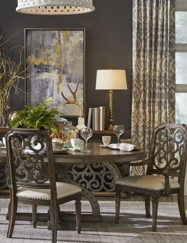 Round Table Dining Room...
