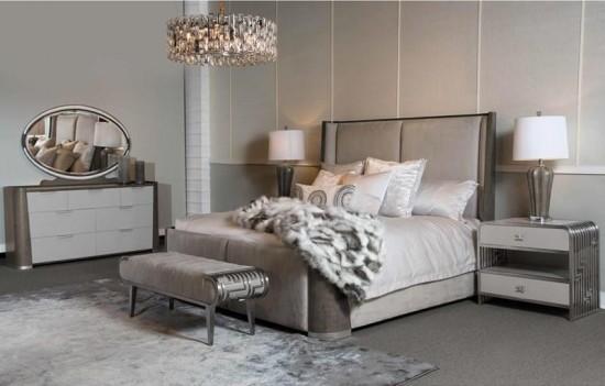Dual-Panel Bed Roxbury...