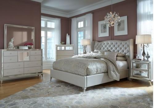 Upholstered Bed Set...