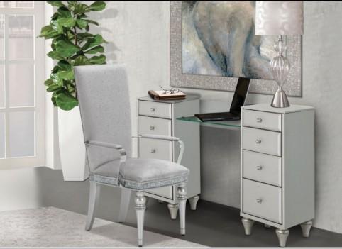 Upholstered Vanity Desk...