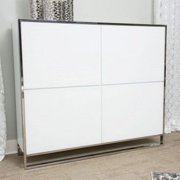 Accent Cabinet White State...