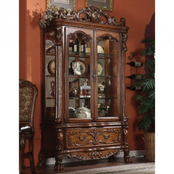 12158 Curio Cabinet Cherry...