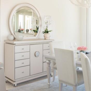 Dresser W/Mirror Glimmering...