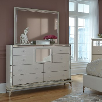Upholstered Storage Dresser...