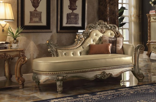Chaise Dresden Gold Patina...