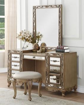 23797 Antique Gold Vanity...
