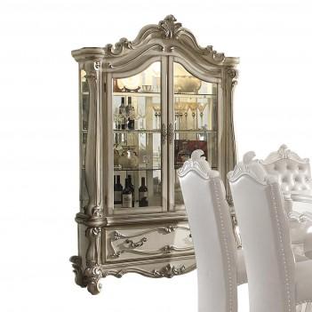 61153 Curio Cabinet Bone...
