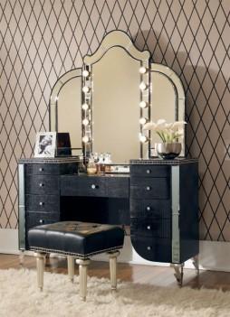 Vanity & Mirror Black...
