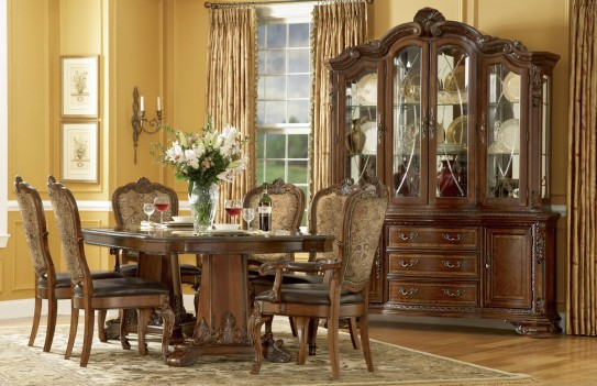 Double Pedestal Dining...