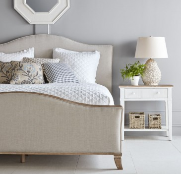 Sleigh Bed Palisade...