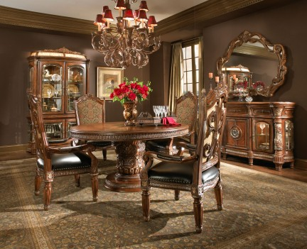 5 PC Round Dining Room Set...
