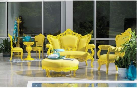 Love Seat Soleil Yellow...
