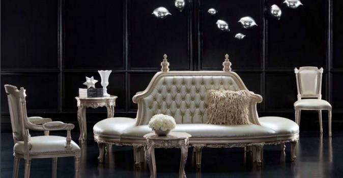 Oval Sofa Gatsby Silver...