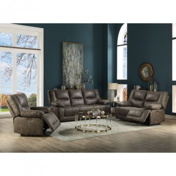 54895 Gray Leather-Aire...