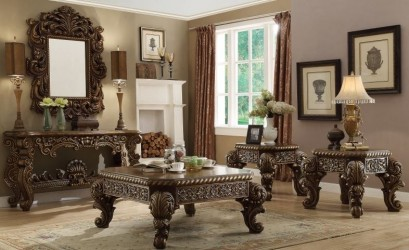 Occasional Tables Victorian Style by Homey Design