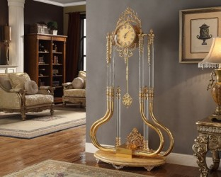 Floor Clock Victorian Style by Homey Design
