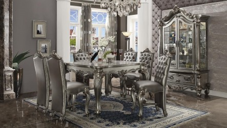 Platinum Finish Versailles Collection By Acme