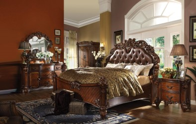 Vendome Cherry Finish Collection By Acme Furniture