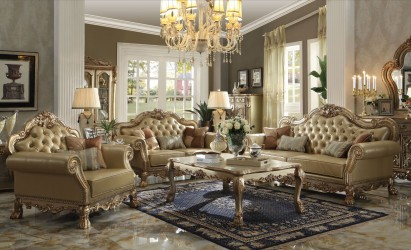 Gold Patina Dresden Collection By Acme
