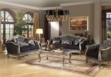 Chantelle Silver Finish Collection By Acme Furniture