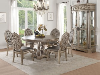Northville  Antique Champagne Finish Collection By Acme Furniture