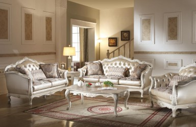 Chantelle Pearl  Finish Collection By Acme Furniture