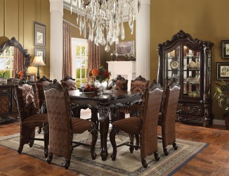 Cherry Oak Finish Versailles Collection By Acme