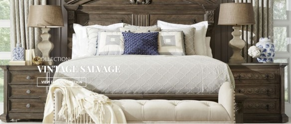 Vintage Salvage Bedroom Collection by  A.R.T. Collection