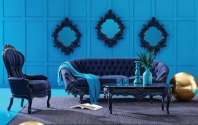 Indigo Blue Finish Collection POLaRT Designs By Polrey