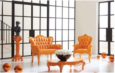 Sunrise Orange Finish Collection POLaRT Designs By Polrey